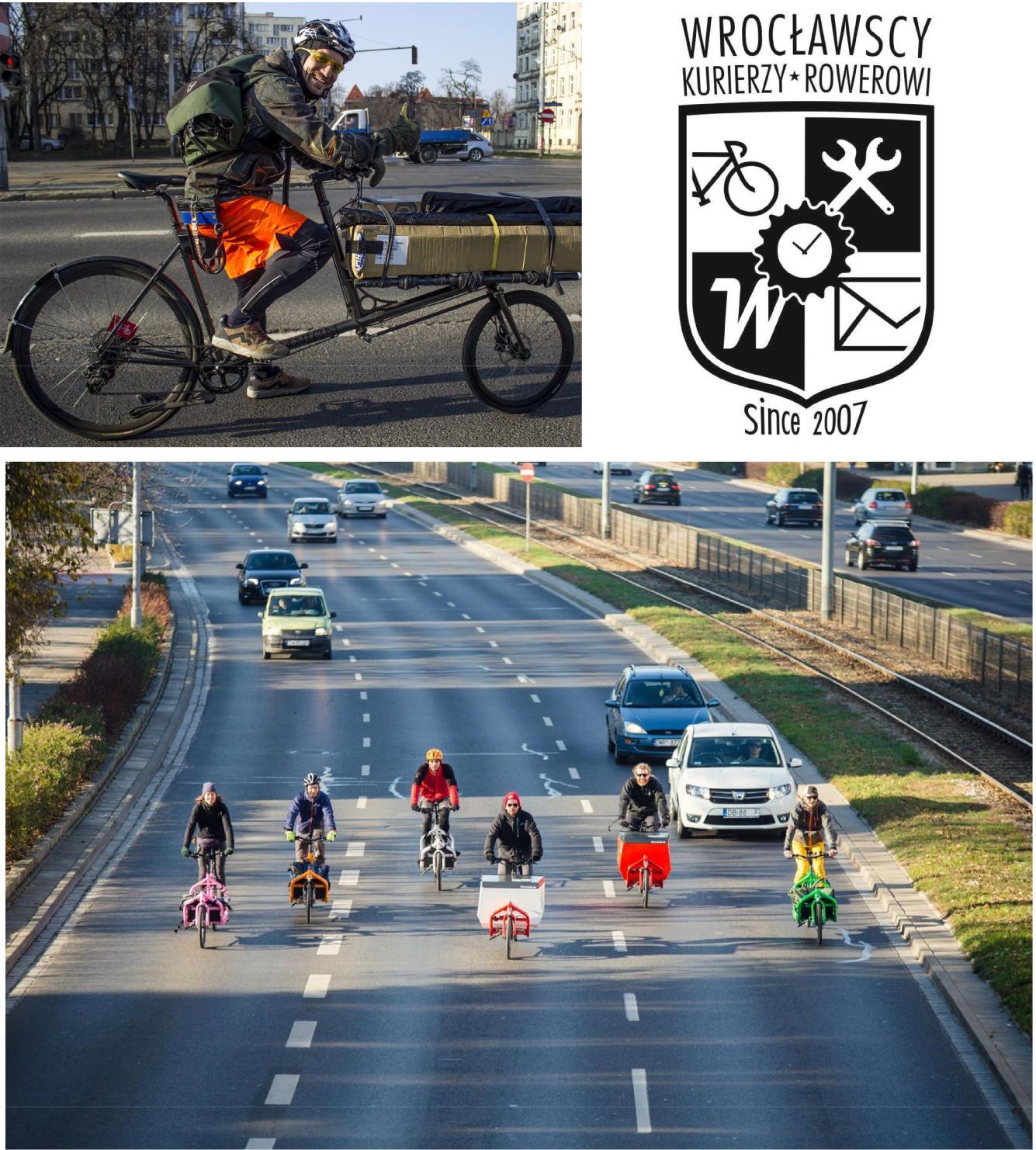 wrocławscy kurierzy rowerowi