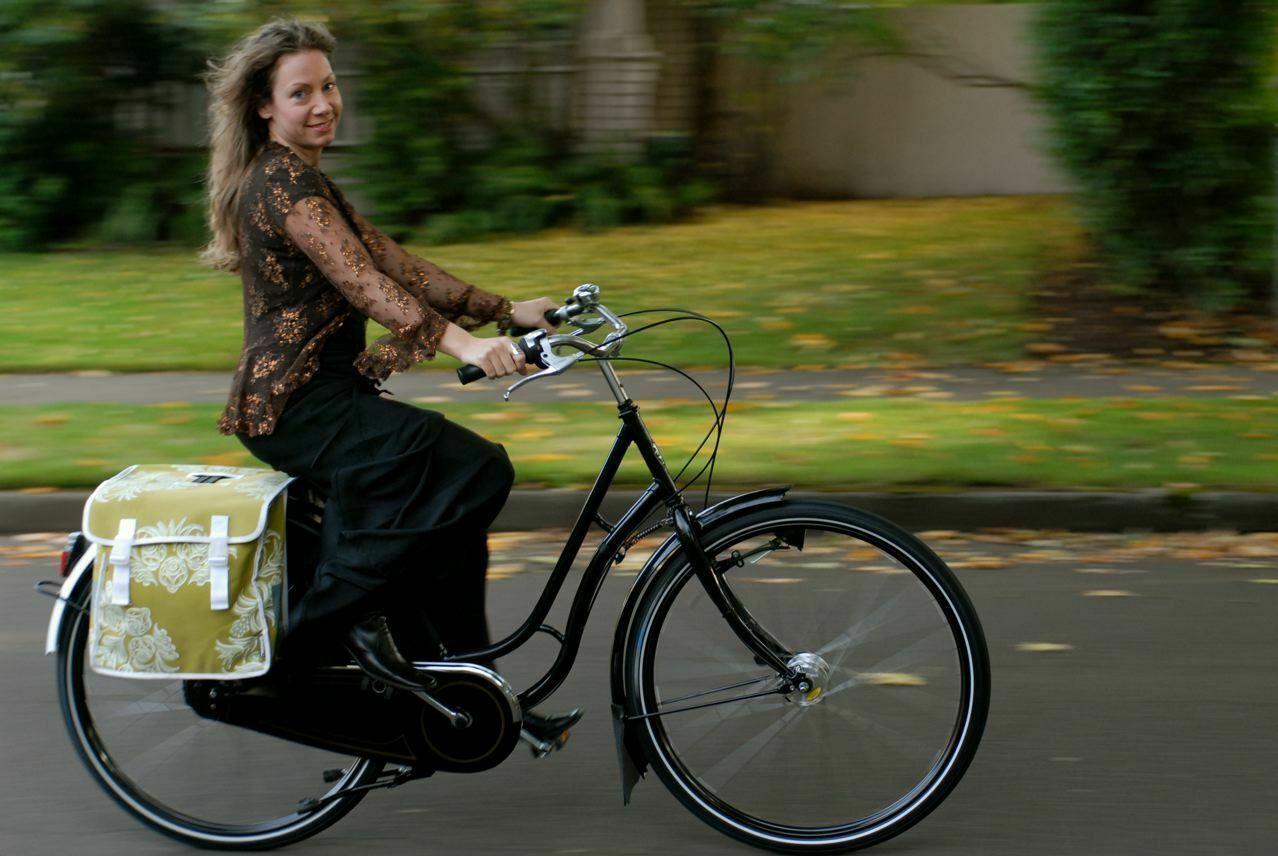 Damski rower holenderski