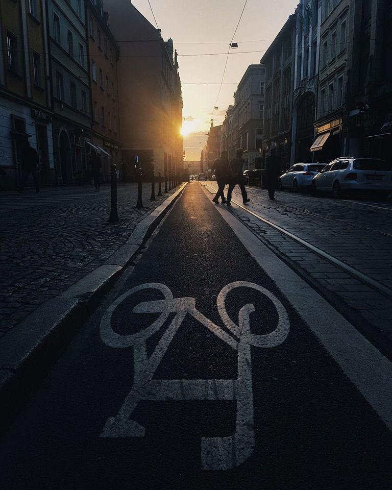 ścieżka rowerowa we wrocławiu