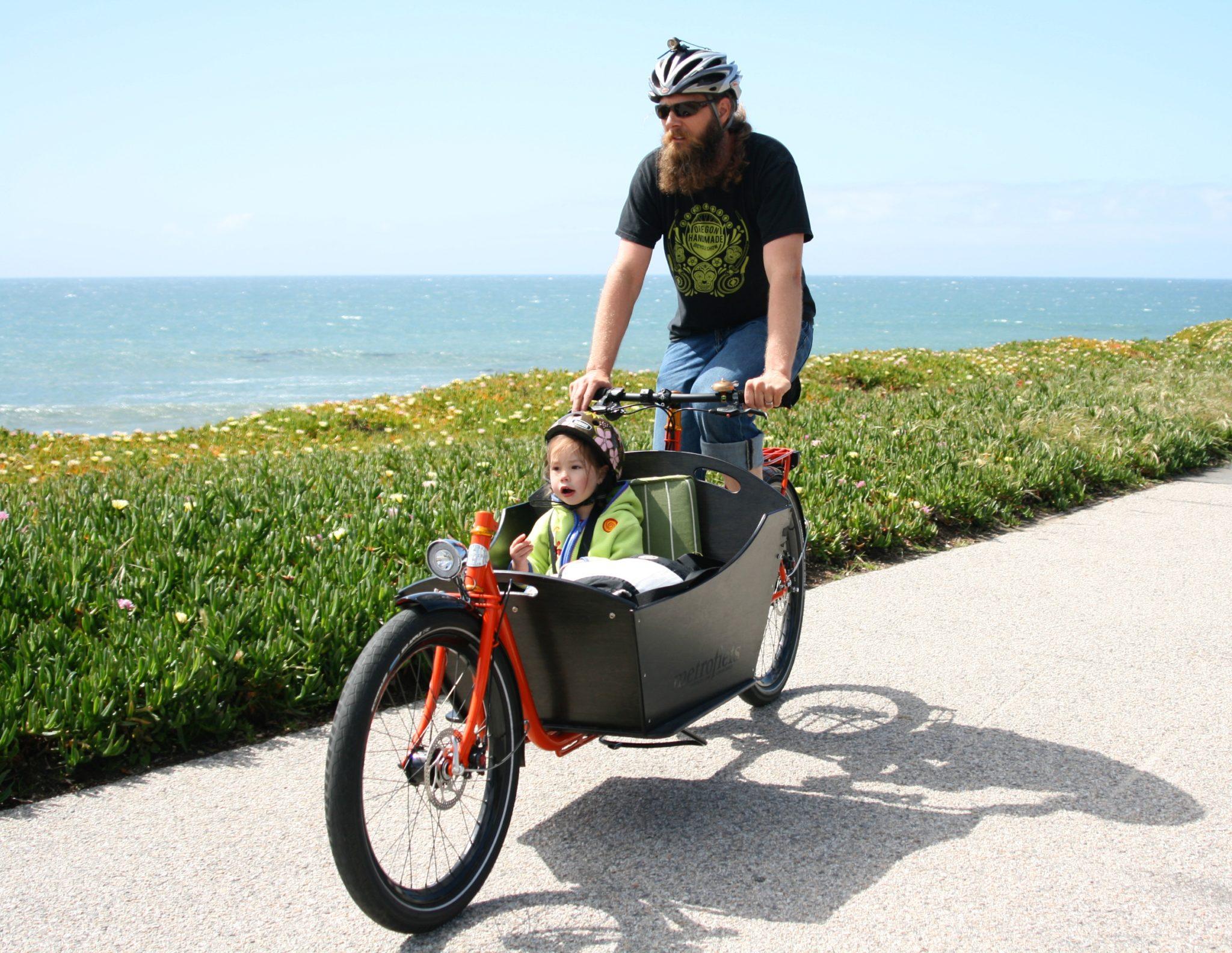 Rower cargo - bezpiecznie na rowerze z dzieckiem