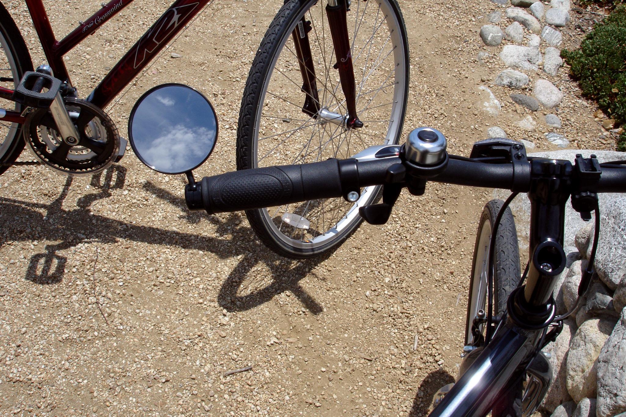 Lusterko rowerowe składane