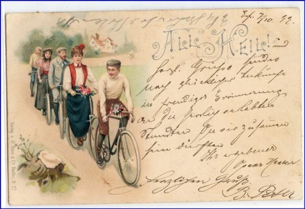 Olsztyn rowery przed II Wojną Światową