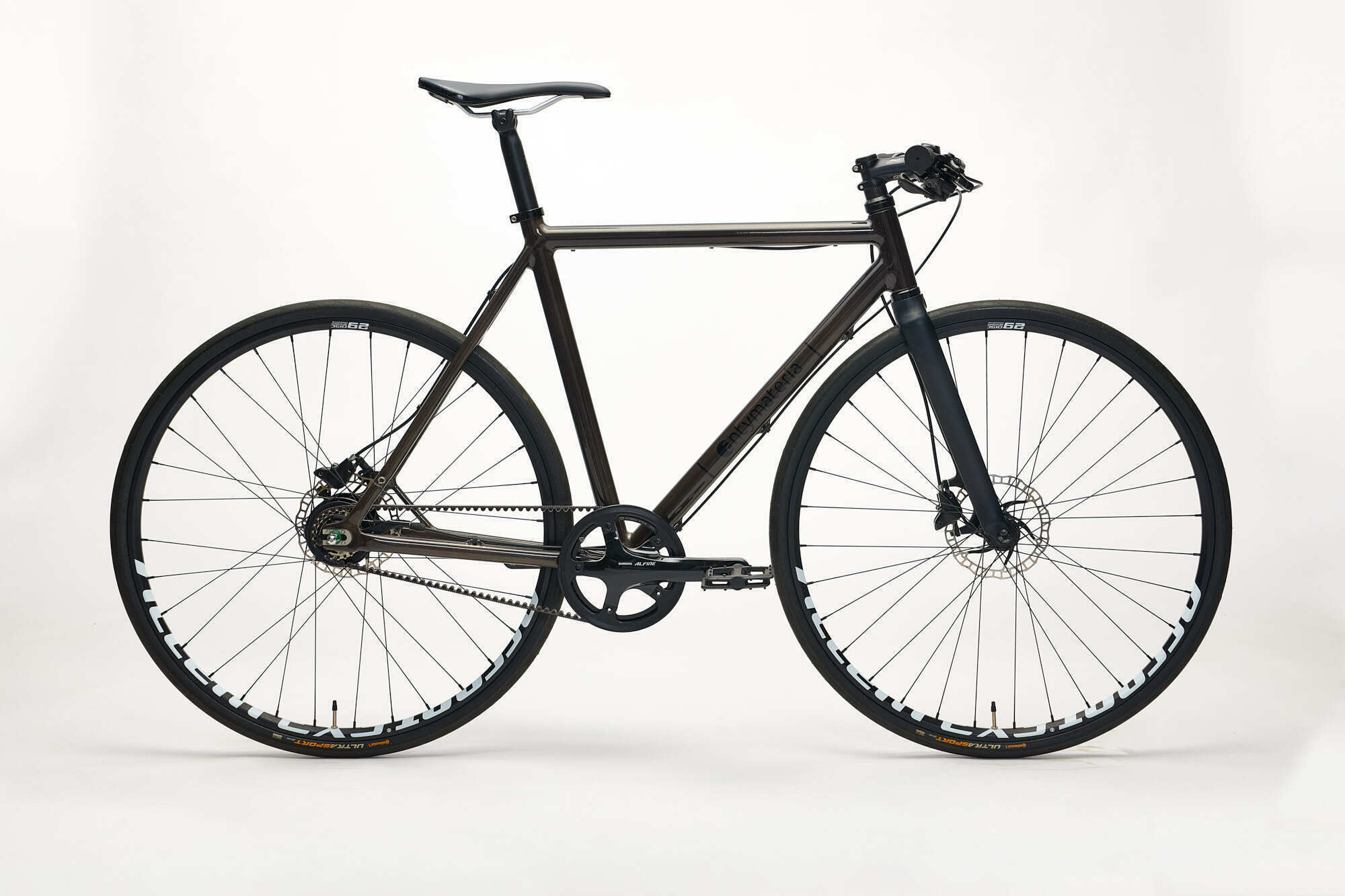Aluminiowy rower na pasku