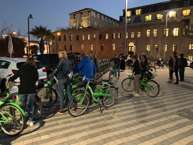 Tel Awiw na rowerze