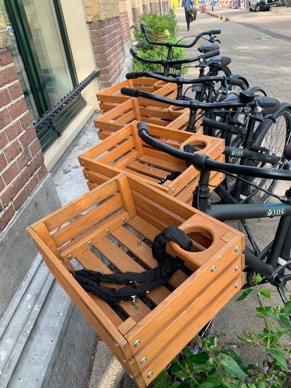 Aseterdam na rowerze. Rowery do wynajęcia w hotelu