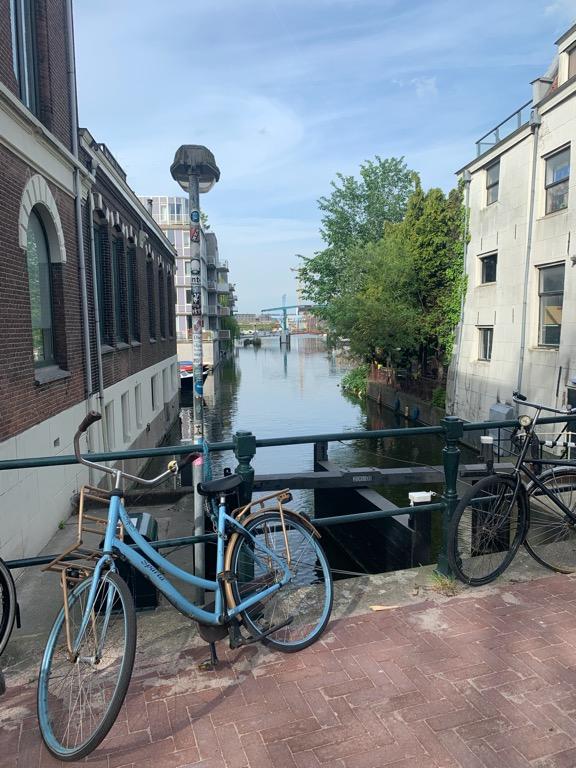 Amsterdam na rowerze