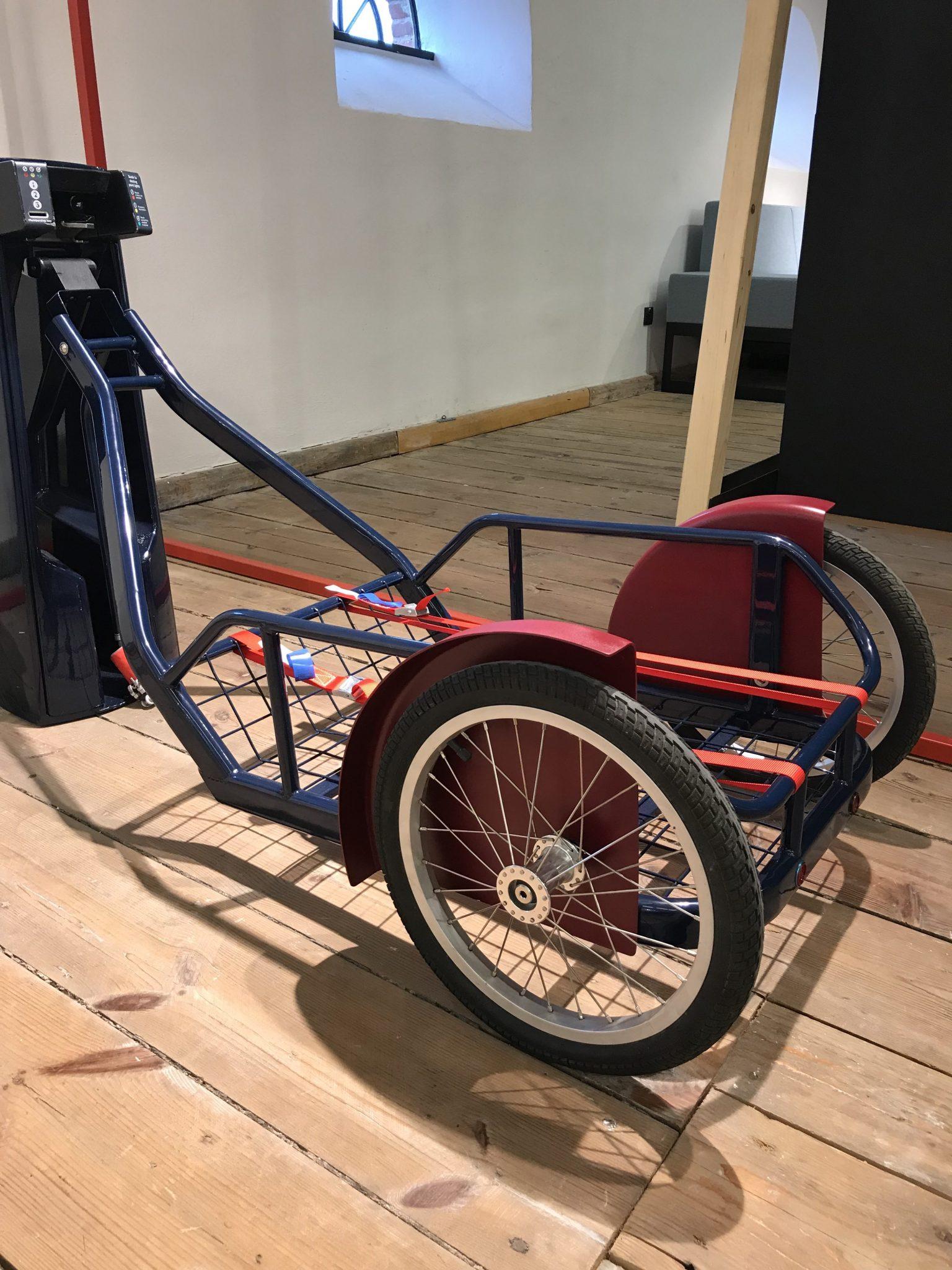 MIejska przyczepka rowerowa