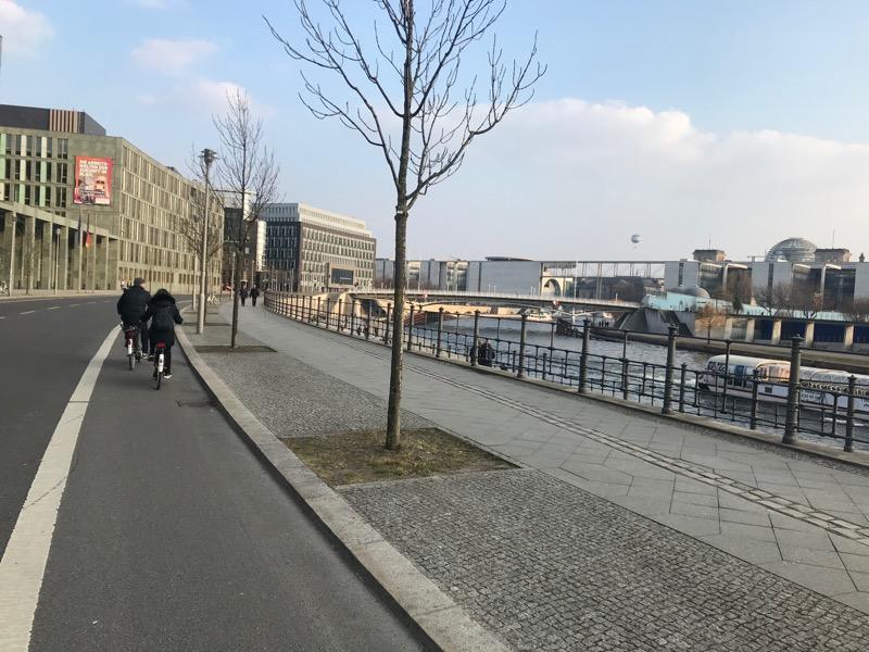 Berlin na rowerze, ścieżka rowerowa