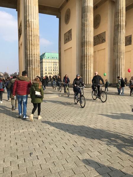 Berlin na rowerze, Brama Barndenburska