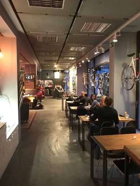 Berlin na rowerze Bike Cafe Berlin