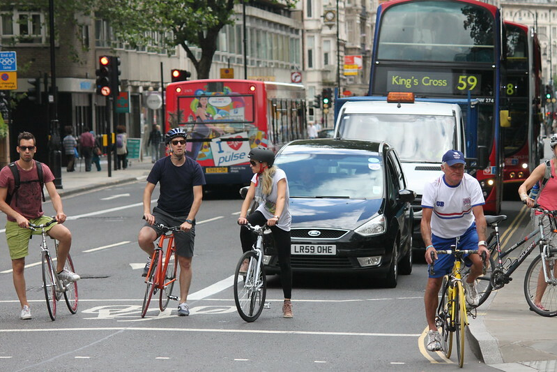londyn na rowerze
