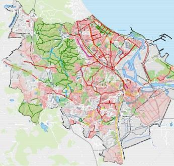 mapka ścieżek rowerowych w gdańsku