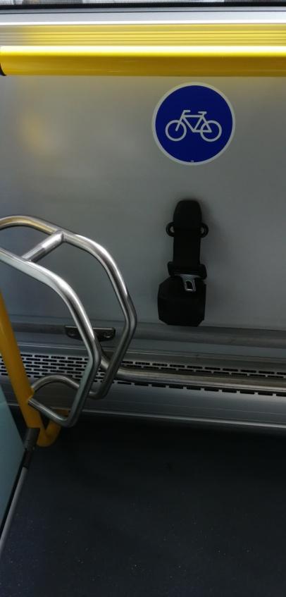 rower w komunikacji miejskiej
